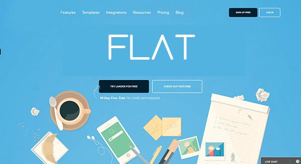 Diseño web Flat Ahdis Creativos