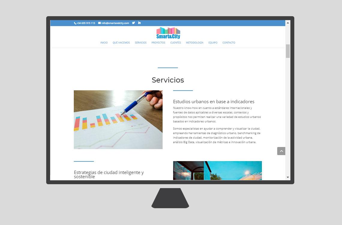 diseño web smart&city