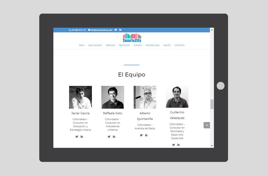 smart&city diseño web