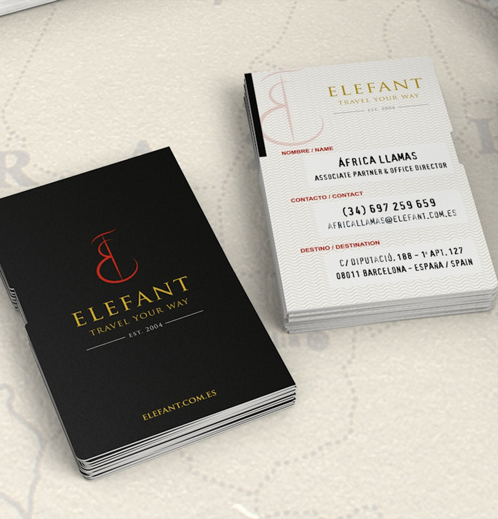 diseño elefant travel