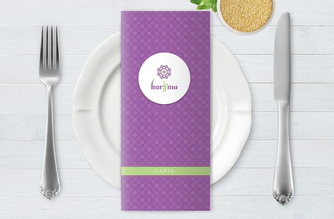 restaurante karisma logotipo