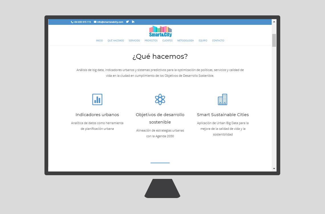 smart&city plataforma web